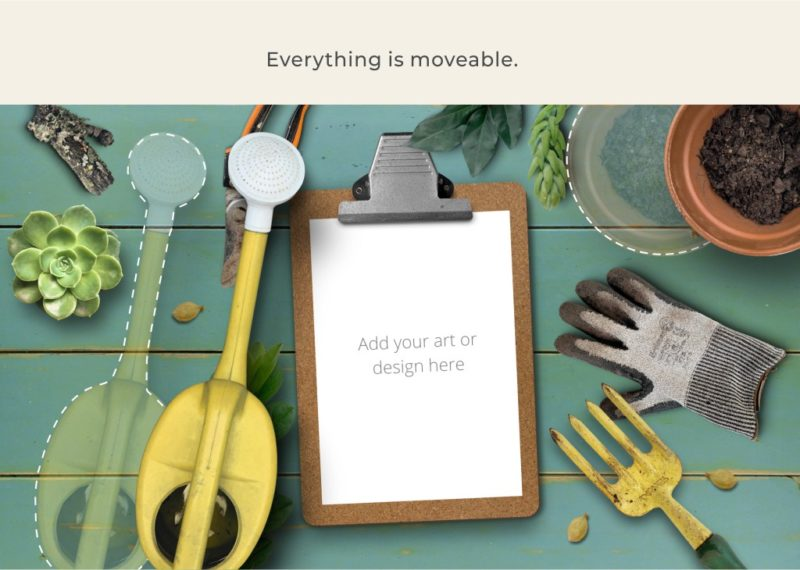 Everything is moveable