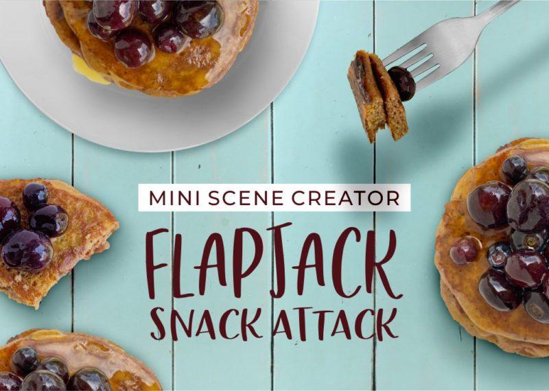 Flapjack Snack Attack mini scene creator