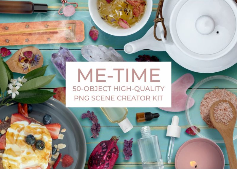 Me Time Scene Creator Kit