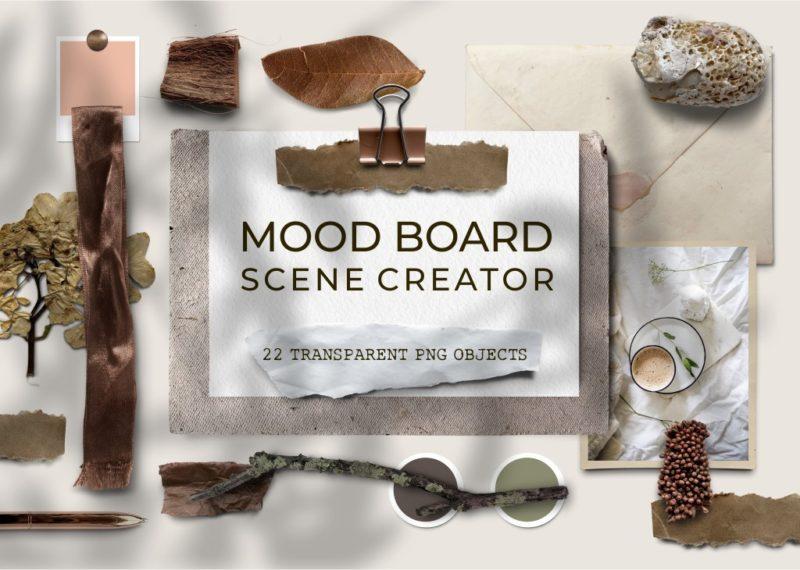 Mood Board Scene Creator
