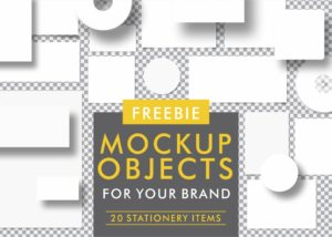 Mockup Objects for your brand 2- stationery items