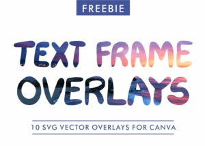 Text Frame Overlays for Canvas