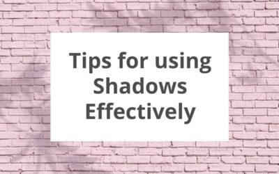 Tips for using drop shadows effectively