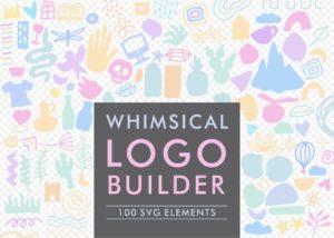 Whimsical Logo Builder SVG Bundle