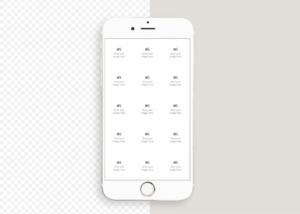 iPhone mockup for Instagram